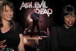 Ash vs Evil Dead - Lucy Lawless & Jill Marie Jones - ZayZay.Com
