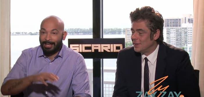 Sicario - Benicio Del Toro & Maximiliano Hernández Interview - ZayZay.Com