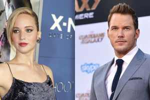Jennifer Lawrence Wound Up Drunk While Preparing Herself For Her First Sex Scene With Chris Pratt