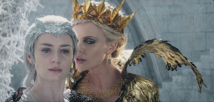 THE HUNTSMAN: WINTER'S WAR - Official Trailer Debut!