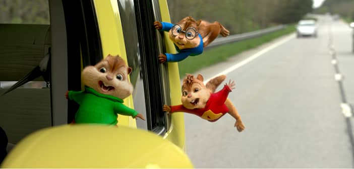 ALVIN AND THE CHIPMUNKS: THE ROAD CHIP - hits Theaters Friday, December 18th 1