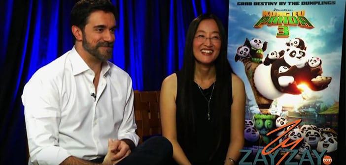 Kung Fu Panda 3 - Interviewing Alessandro Carloni and Jennifer Yuh - ZayZay.Com