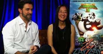 Kung Fu Panda 3 Interview For ZayZay.Com - Alessandro Carloni and Jennifer Yuh
