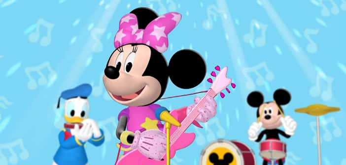 CLOSED--POP STAR MINNIE: MICKEY MOUSE CLUBHOUSE - DVD Giveaway 2