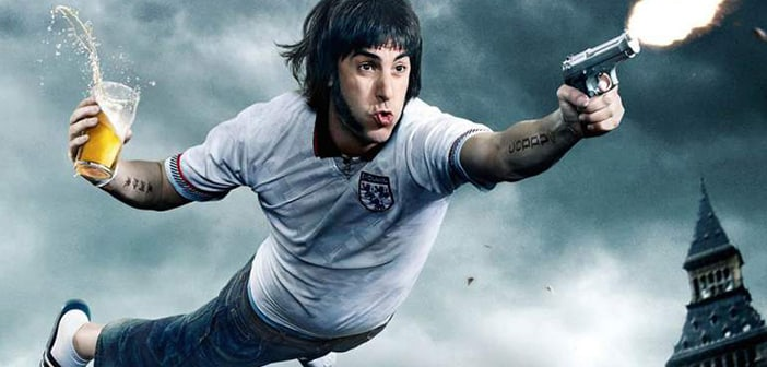 Sacha Baron Cohen Appears Nobby, His Newest Character For Premiere Showing Of 'Grimsby' 1
