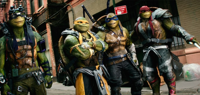 TEENAGE MUTANT NINJA TURTLES: OUT OF THE SHADOWS - Images From WonderCon 72