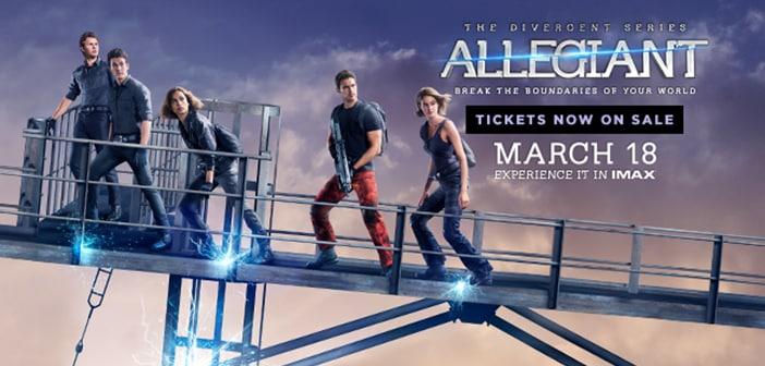 Divergent THE SERIES: Allegiant | Tickets Now Sale! 2