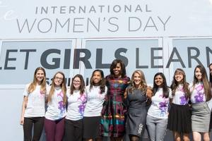 Have A Listen To Michelle Obama's Charity Single, 'This is for My Girls'