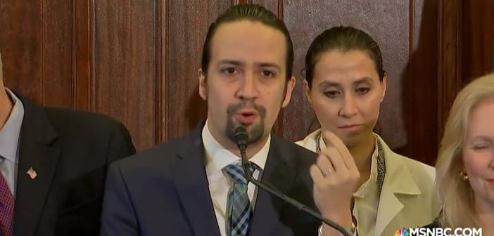 Lin-Manuel Miranda Went To DC's Capitol Hill To Give Speech To Pass Legislation To Aid Rebuilding Puerto Rico 2