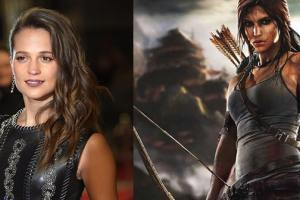 Actress Alicia Vikander Brought In For The Role Of A Young Lara Croft On Her First Adventure As A Tomb Raider