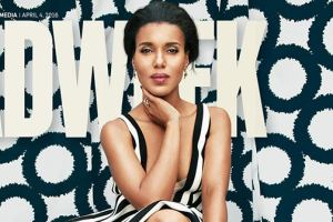 Kerry Washington Calls Out AdWeek Magazine for Photoshopping Cover