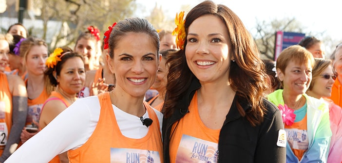 Natalie Morales Of NBC's TODAY Show, Erica Hill Of NBC News, And Carolyn Manno Of NBC Olympics To Host 2016 More/Shape Women's Half-Marathon 4