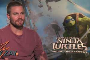 Teenage Mutant Ninja Turtles: Out Of The Shadows - Stephen Amell Interview - ZayZay.Com