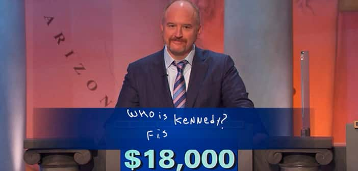 Louis C.K. Wins 'Jeopardy' And Donates All  $50 Thousand To Charity