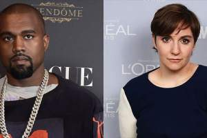 Lena Dunham Shoots Down Kanye West's 'Famous' Video