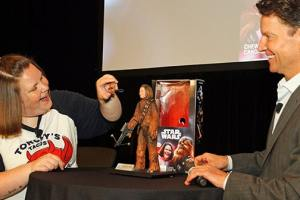 Hasbro Honors Youtube Sensation Candace Payne, a.k.a. Chewbacca Mom, With Her Very Own Action Figure