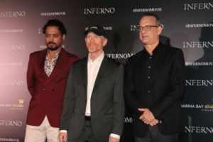 INFERNO starring Tom Hanks - Singapore Red Carpet! 1