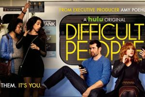 DIFFICULT PEOPLE - Mark Consuelos Nearly Loses His Shirt in Brand New Clip!