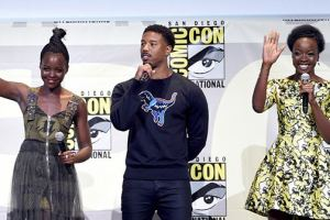 Lupita Nyong'o Sings Onto Marvel's 'Black Panther'