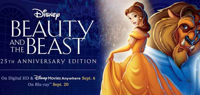 BEAUTY AND THE BEAST 25TH ANNIVERSARY EDITION - Movie Giveaway 1