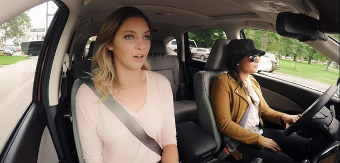 Demi Lovato Has Fun By Posing As An Undercover Lyft Driver And Seeing What People Really Think Of Her