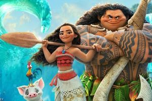"Disney's MOANA - Dwayne Johnson sings ""You're Welcome"" - written by Lin-Manuel Miranda 2"