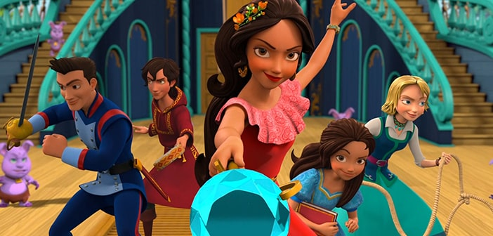 CLOSED--Elena of Avalor: Ready to Rule - DVD Set Giveaways