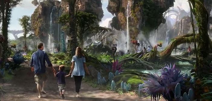 Disney World Gifts Special Sneak Peak Revelaing Plans For An 'Avatar' Based Themed Amusement Park