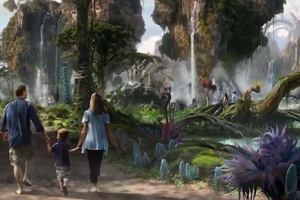 Disney World Gifts Special Sneak Peak Revelaing Plans For An 'Avatar' Based Themed Amusement Park