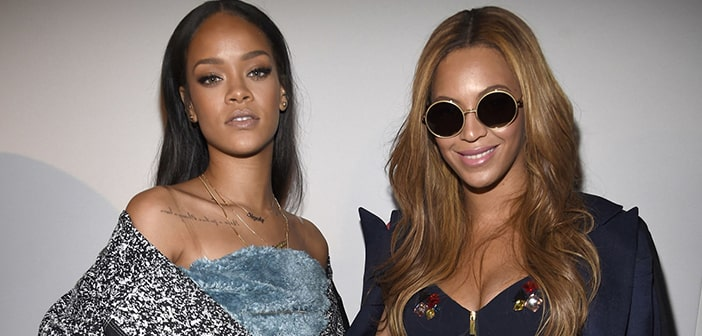 "Rihanna Wishes People Would Stop Imagining Drama Towards ""Beating"" Beyoncé At The GRAMMY's"