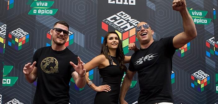 RETURN OF XANDER CAGE - São Paulo Comic Con 34