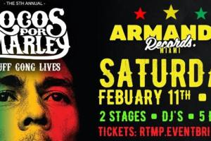 Save The Date: Locos por Juana celebrate their annual Locos por Marley Festival at Armando Records! 3