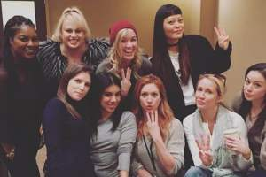 Anna Kendrick Posts Instagram Pic Showing Off Her Squad Ready For On Pitch Perfect 3