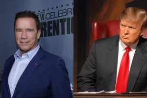 Donald Trump Makes Sure To Let New Celebrity Apprentice Host Arnorld Scwarzenegger That He Ruined His Show 2