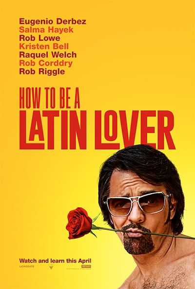 Eugenio Derbez & Salma Hayek in HOW TO BE A LATIN LOVER 1