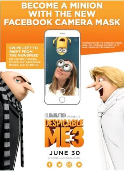 Despicable Me Minions Mask App