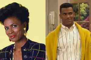 Fresh Prince of Bel-Air Aunt Viv and Carlton
