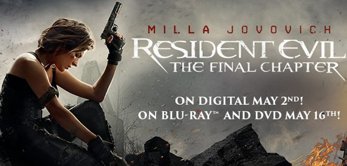 RESIDENT EVIL:  THE FINAL CHAPTER - The Epic Conclusion to the Highest Grossing  Video Game Film Franchise of All Time 12