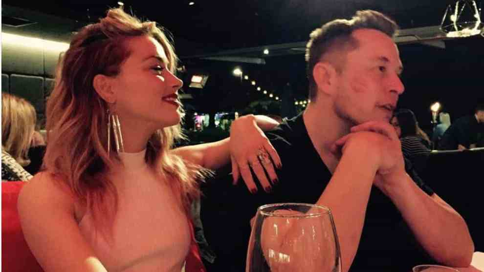 Elon Musk and Amber Heard are dating