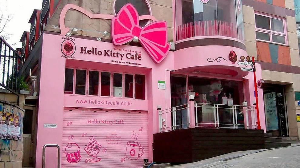 Hello Kitty Cafe Permanent U.S. address