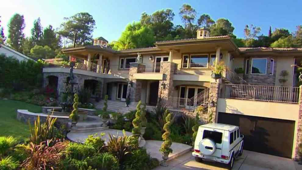 Kris Jenner's stand in home on Keeping Up With the Kardashians
