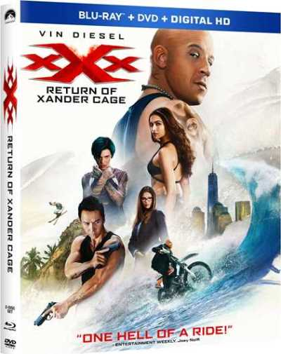 Return of Xander Cage - On Blu-ray/DVD May 16