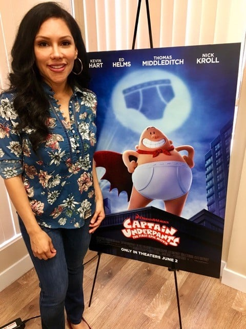 hypnotherapist Sasha Carrion - Captain Underpants