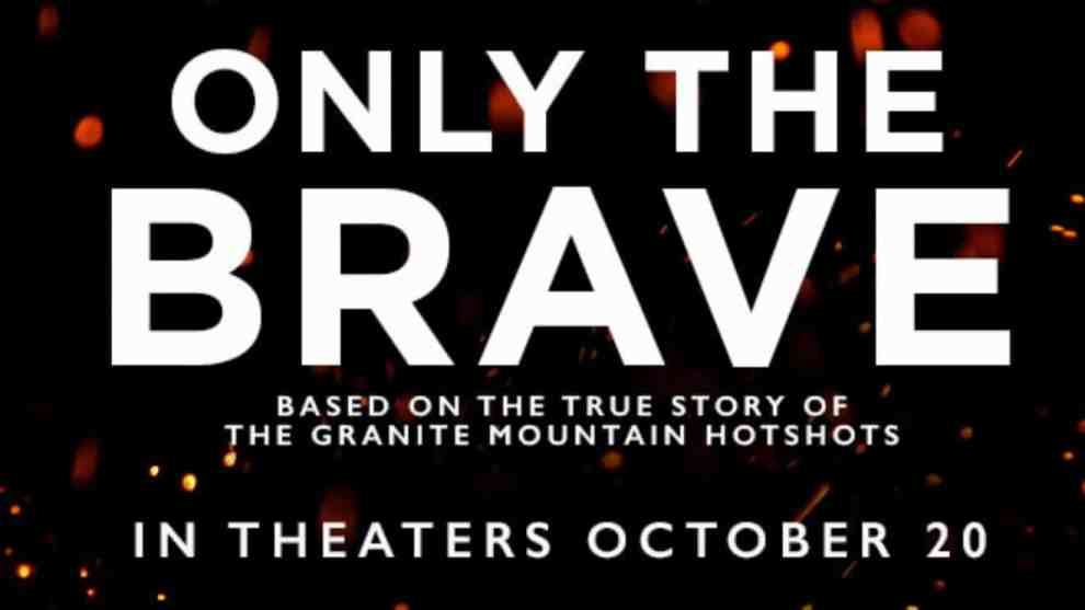 only the brave - banner