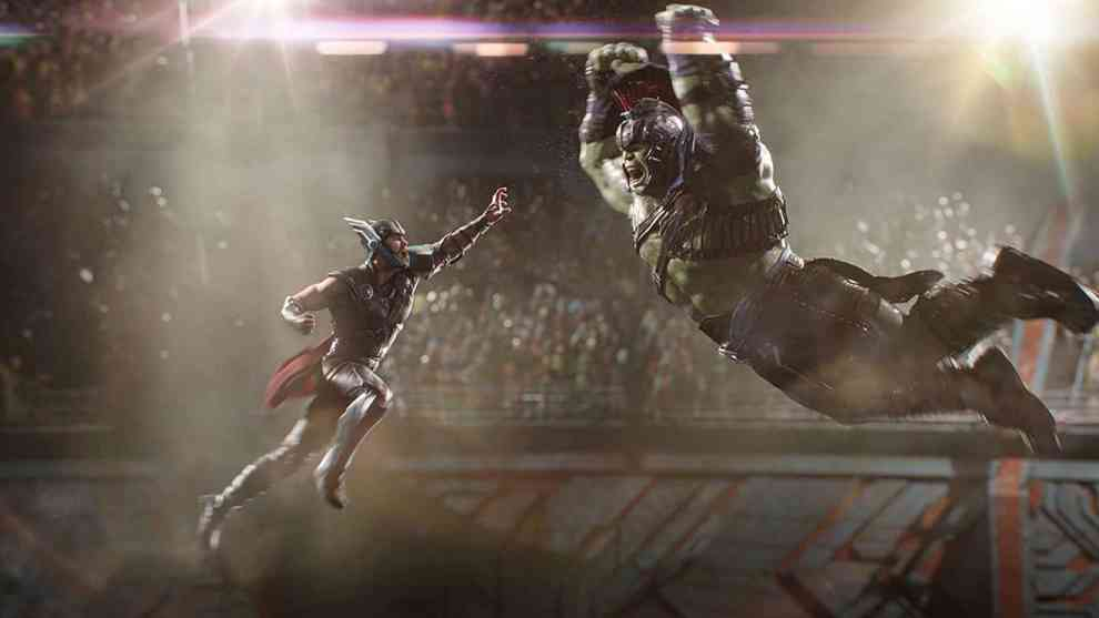 Thor Ragnarok - Colosseum
