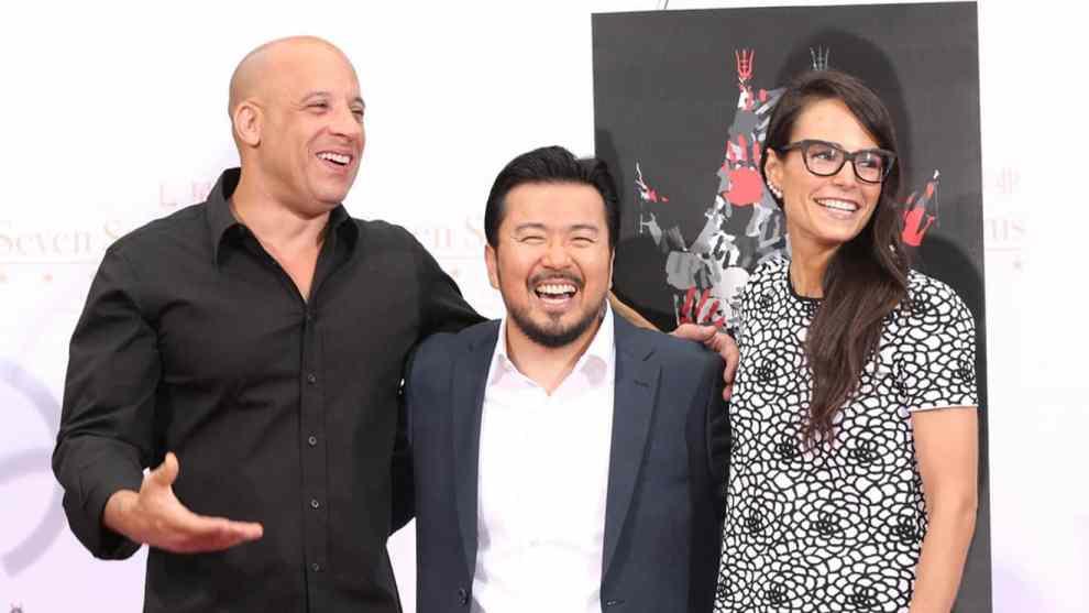 Vin Diesel-Justin Lin-Jordana Brewster-'Fast & Furious'