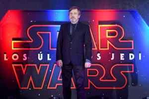 Mark Hammel - Last Jedi Premiere