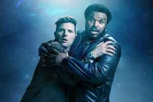 Ghosted starring Adam Scott and Craig Robinson