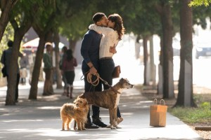 Tone Bell and Nina Dobrev in Ken Marino's DOG DAYS
