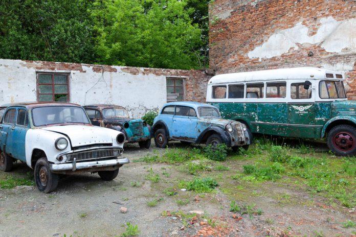 На території Музею авто-мото техніки в Городку
